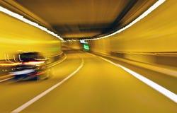 Movimiento abstracto de la velocidad Foto de archivo libre de regalías