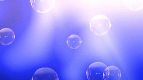Movimiento abstracto de la velocidad en el camino urbano TunnelAnimation de la carretera de las burbujas que suben al top El text libre illustration