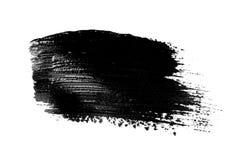 Movimiento abstracto del cepillo del grunge aislado fotografía de archivo libre de regalías