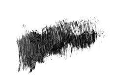 Movimiento abstracto del cepillo del grunge aislado Imagenes de archivo
