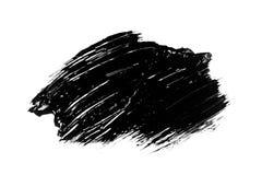 Movimiento abstracto del cepillo del grunge aislado Imagen de archivo