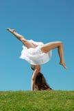 Movimiento acrobático Fotografía de archivo