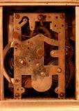 Movimiento antiguo del reloj del carro Imagen de archivo libre de regalías