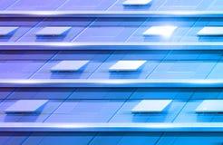 Movimiento azul foto de archivo libre de regalías