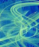Movimiento browniano Foto de archivo libre de regalías