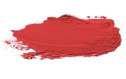 Movimiento de acrílico abstracto del cepillo del color Aislado imágenes de archivo libres de regalías