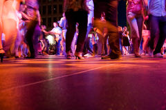 Movimiento de Dance Floor Imágenes de archivo libres de regalías