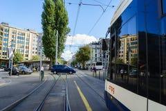 Movimiento de la calle foto de archivo