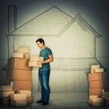 Movimiento de la casa libre illustration