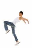 Movimiento de la danza Fotos de archivo