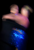 Movimiento de la danza Foto de archivo libre de regalías