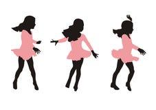 Movimiento de la danza Fotografía de archivo