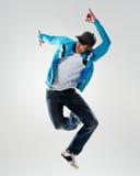 Movimiento de la danza de la acción fotografía de archivo libre de regalías