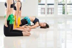 Movimiento de la danza de vientre Fotos de archivo