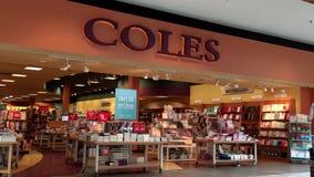 Movimiento de la librería de Coles