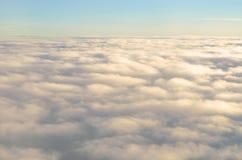 Movimiento de la nube de la falta de definición Foto de archivo libre de regalías
