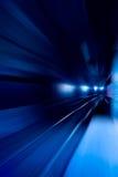 Movimiento de la velocidad foto de archivo