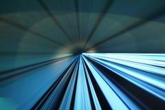 Movimiento de la velocidad de la aceleración imagen de archivo