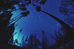 Movimiento de las estrellas imágenes de archivo libres de regalías