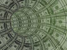 Movimiento de los recursos del dinero Imágenes de archivo libres de regalías
