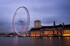 Movimiento de ojo de Londres Foto de archivo