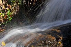 Movimiento del agua Fotos de archivo libres de regalías