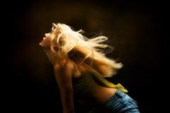 Movimiento del baile imagen de archivo libre de regalías
