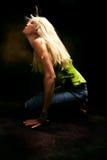 Movimiento del baile imágenes de archivo libres de regalías