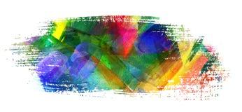 Movimiento del cepillo Foto de archivo libre de regalías