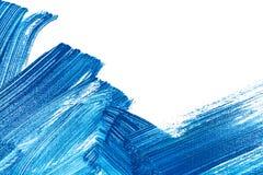 Movimiento del cepillo Imagen de archivo libre de regalías