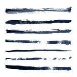 Movimiento del cepillo del vector del color Foto de archivo