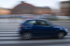 Movimiento del coche Foto de archivo libre de regalías