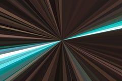 Movimiento del crepúsculo del horizonte del paisaje urbano de la luz del coche en tono dramático El extracto irradia el fondo Mod ilustración del vector