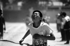 Movimiento del estudiante Foto de archivo