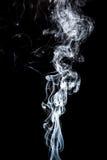 Movimiento del humo blanco Fotos de archivo