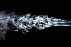 Movimiento del humo blanco Imágenes de archivo libres de regalías