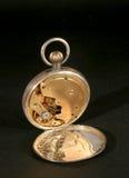 Movimiento del reloj de bolsillo Fotografía de archivo libre de regalías