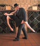 Movimiento del tango foto de archivo libre de regalías