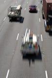 Movimiento del tráfico Foto de archivo