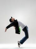 Movimiento emocional de la danza imagen de archivo libre de regalías