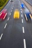 Movimiento en la carretera Fotos de archivo