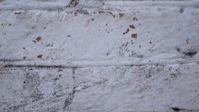 Movimiento en sentido vertical de la pared de ladrillo cerca almacen de video