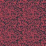 Movimiento incons?til Art Pattern del cepillo ilustración del vector