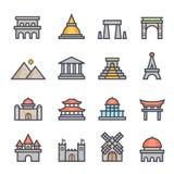 Movimiento intrépido del icono de la señal con color libre illustration