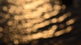 Movimiento ligero del bokeh el chispear abstracto metrajes