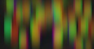 Movimiento torcido y borroso de luces brillantes multicoloras almacen de metraje de vídeo