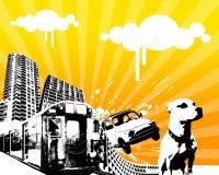 Movimiento urbano 01 Foto de archivo