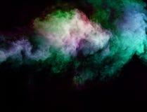 Movimientos abstractos del humo Imagen de archivo libre de regalías