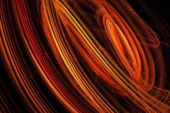 Movimientos chapoteantes rojos Imagen de archivo libre de regalías