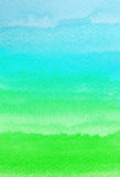Movimientos coloridos del cepillo de la acuarela Imagen de archivo libre de regalías